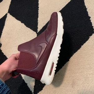 Nike air max's leather